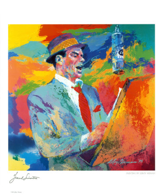Frank Sinatra Poster Print by LeRoy Neiman (20 x 24)