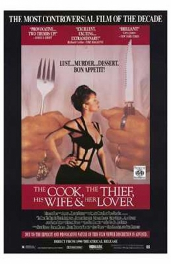 Cook the Thief His Wife and Her Lover Movie Poster (11 x 17)