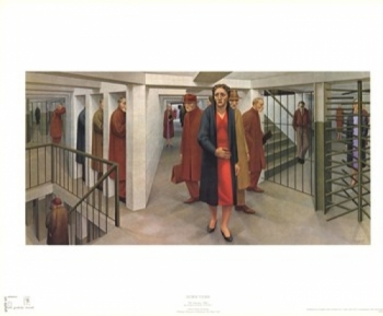 The Subway, 1950 Poster Print by George Tooker (30 x 24)