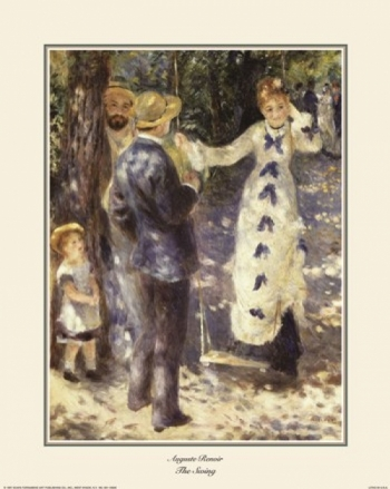 The Swing Poster Print by Pierre-Auguste Renoir (16 x 20)